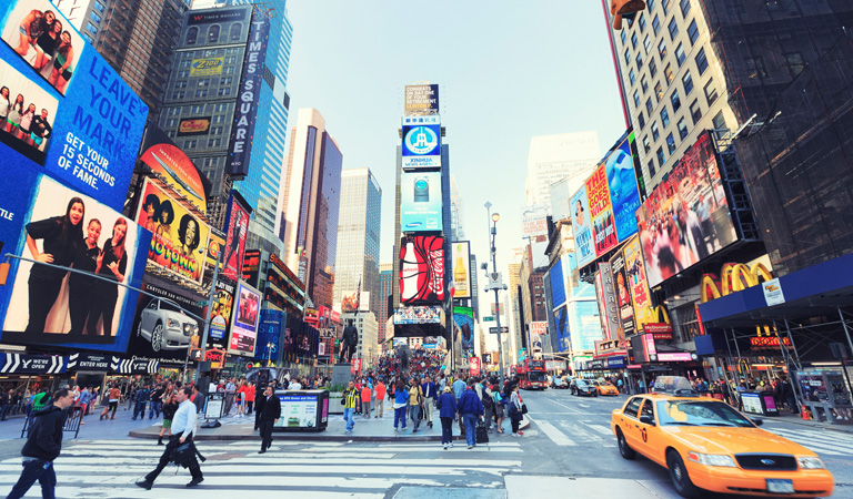 Newyork's Times Square