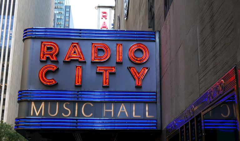 Radio City Music Hall of Newyork