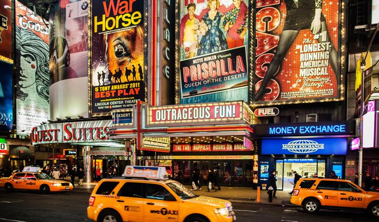 Theater District Newyork