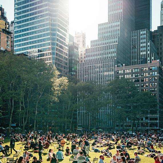 Bryant Park in Newyork