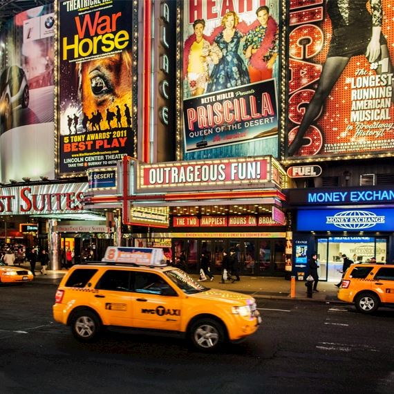 Theater District Newyork