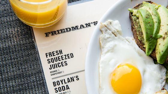 Friedmans at Hotel Edison newyork