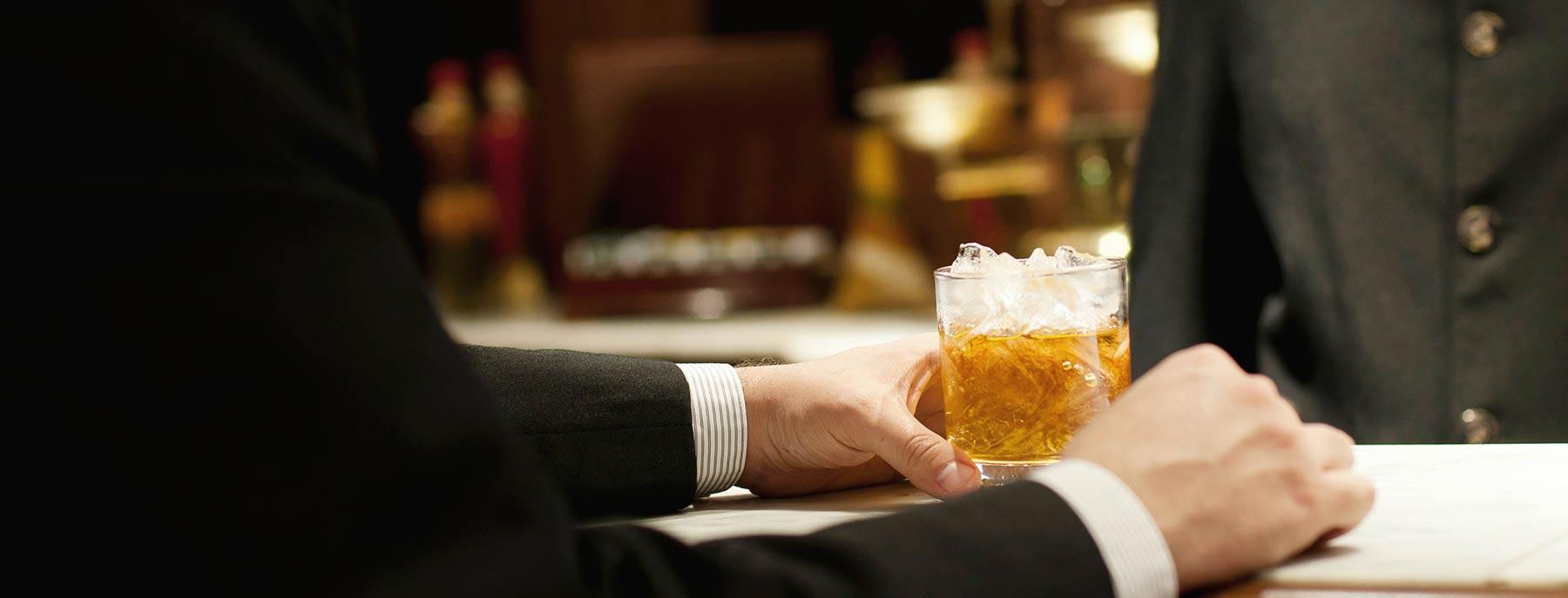 Bar at Hotel Edison, New York