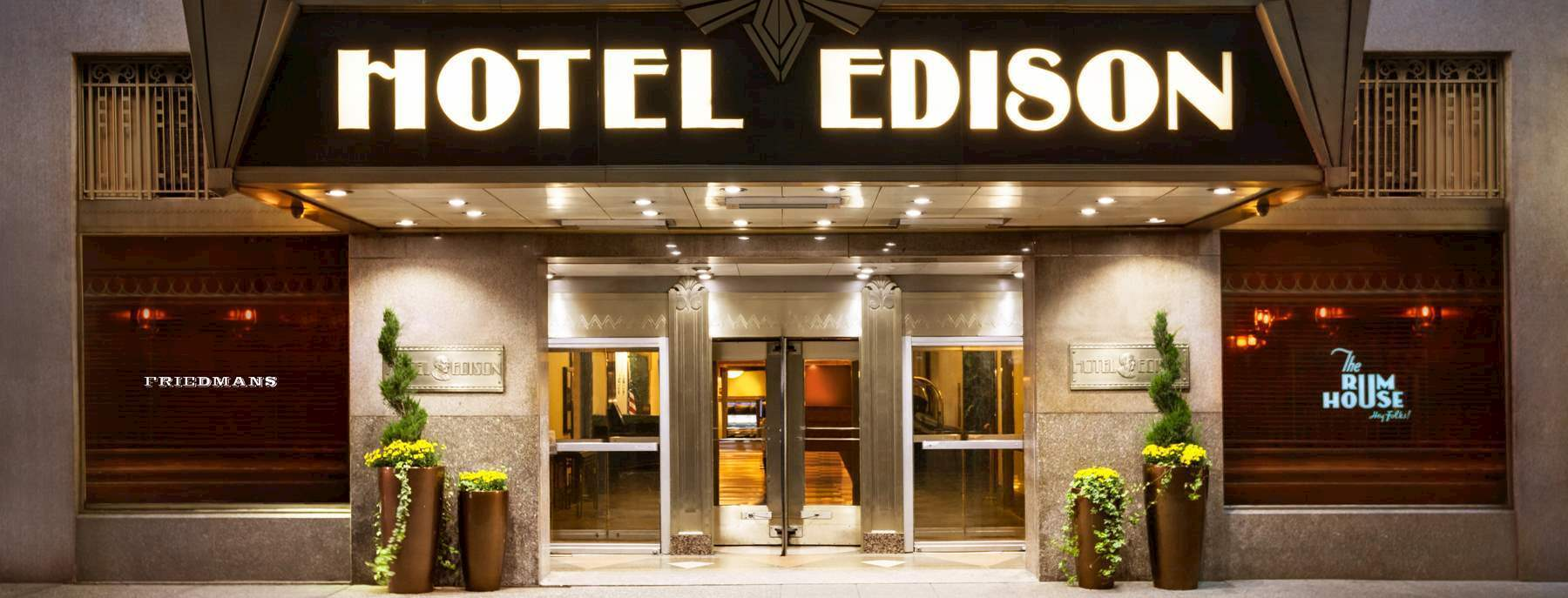 Hotel Edison | The Best Value Luxury Hotel in NYC's Times Square