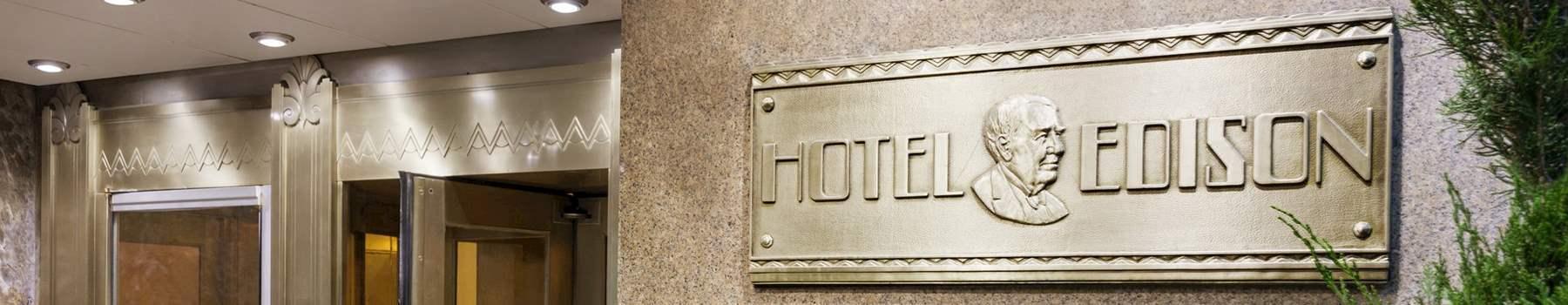Contact to Hotel Edison Newyork