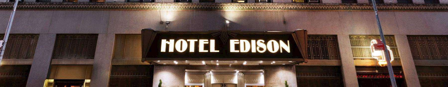 The Show Must Go On! - hotel edison
