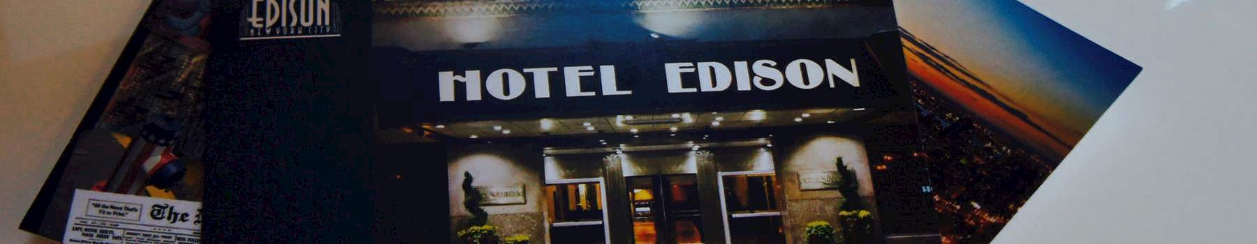 Exclusive Deals, Just For You at Hotel Edison New york