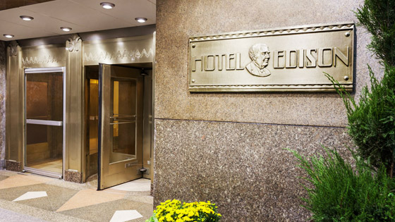 Stay a Little Longer, Save a Little More in Hotel Edison Newyork