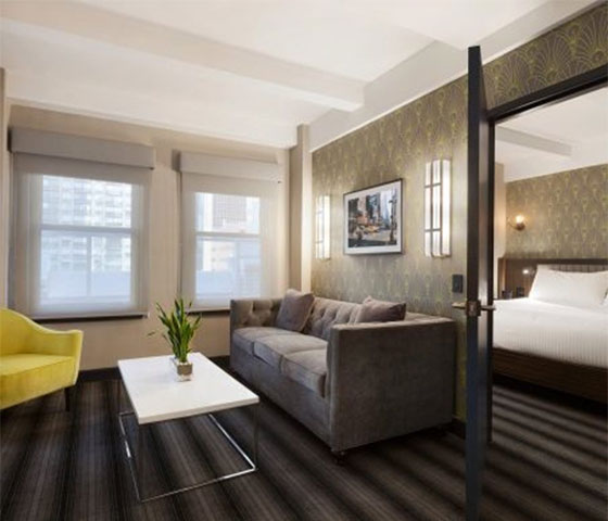 OMJ.COM: 6 New York City Hotel Suites Worth a Staycation