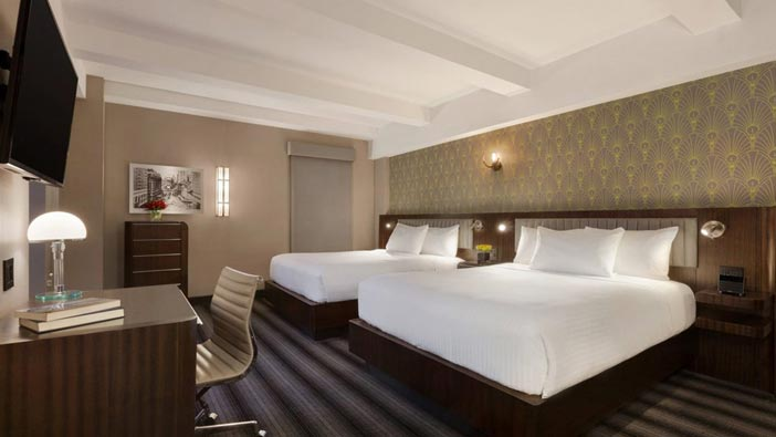 Signature Two Queen Beds at Hotel Edison Newyork