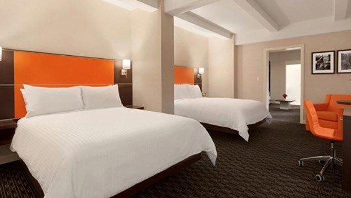 Hotel Edison Newyork Signature Suite Two Queen Beds with Terrace