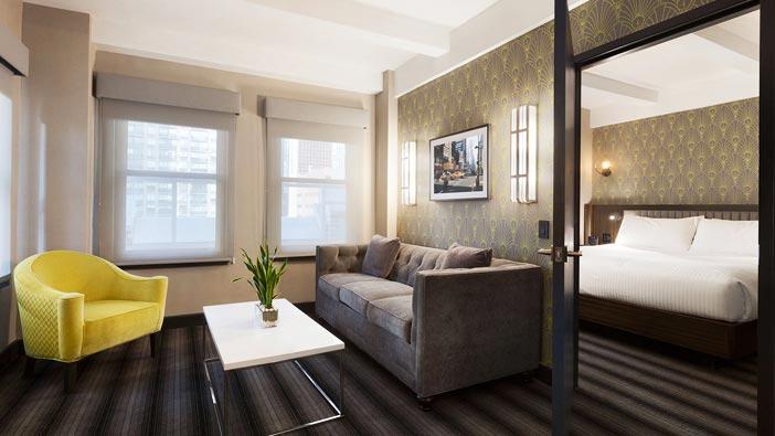 Hotel Edison Newyork Signature Suite with Terrace