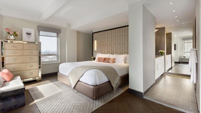 Presidential Suite at Hotel Edison Newyork