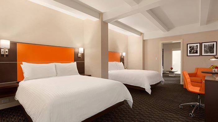 Signature Two Queen Suite of Hotel Edison Newyork